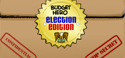 "Image associated with Online Game ""Budget Hero"" Releases Election Edition"