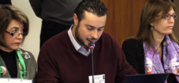"Image associated with Video: Testifying on ""Enforced Disappearances"""