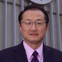 Portrait of Jim Yong Kim