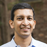 Profile portrait of Raj Chetty