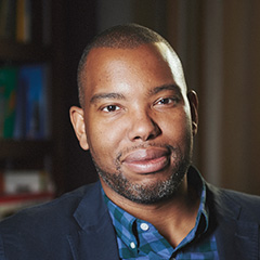 Profile portrait of Ta-Nehisi Coates