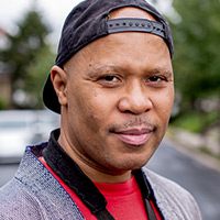 Profile portrait of Steve Coleman