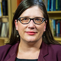 Profile portrait of Sarah Deer