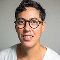 Profile portrait of Nicole Eisenman