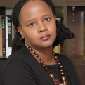 Profile portrait of Edwidge Danticat