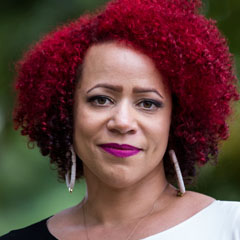Profile portrait of Nikole Hannah-Jones