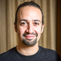 Profile portrait of Lin-Manuel Miranda