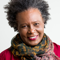 Profile portrait of Claudia Rankine