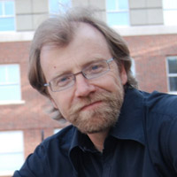 Profile portrait of George Saunders