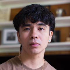 Portrait of Ocean Vuong