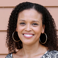 Profile portrait of Jesmyn Ward