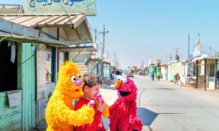 JadandElmoinAzraqrefugeecamp,Jordan