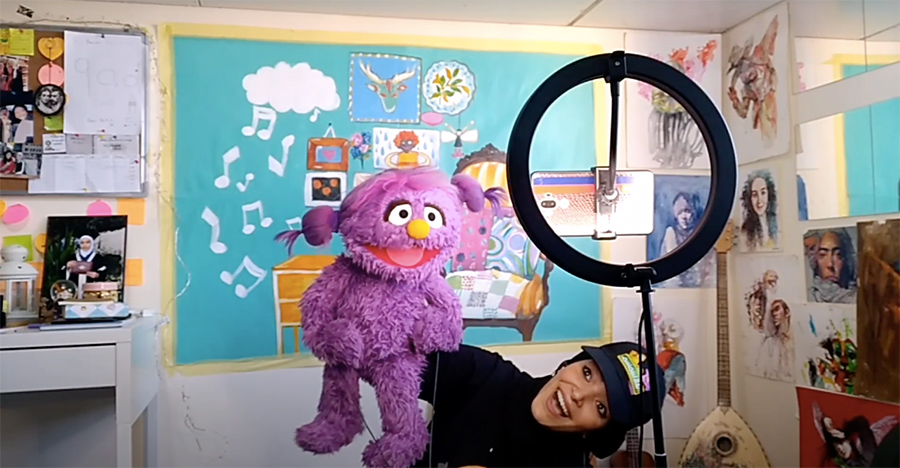 PurpleMuppetAndPuppeteer