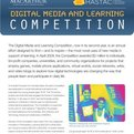 Thumbnail for Digital Media & Learning Competition Brochure