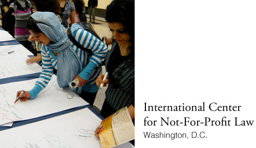 Intl Center for Non-For-Profit Law