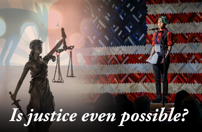 Is justice even possible?