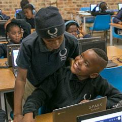SparkSchoolStudentsInClassroom
