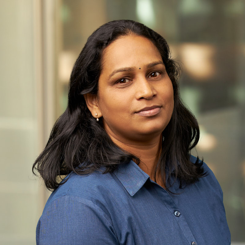 Shanthini Thomas, Office Administrator, India