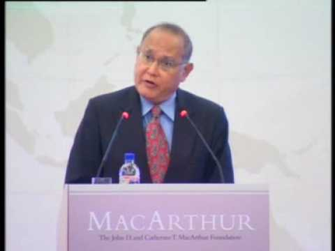 Still image from Amb Barry Desker at the Launch of the MacArthur Foundation Asia Security Initiative