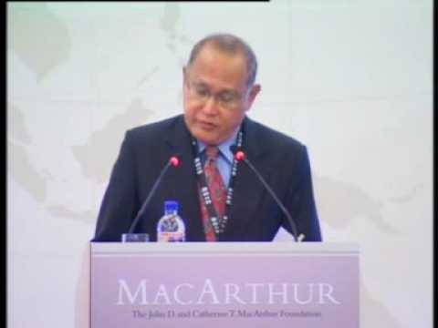 Still image from Amb Barry Desker Closes the Launch of the MacArthur Foundation Asia Security Initiative