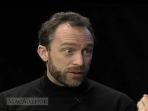 Still image from Wikipedia Founder Jimmy Wales Interviewed by MacArthur President Jonathan Fanton