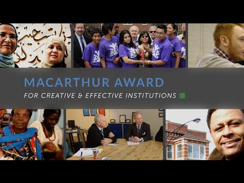 Still image from About the MacArthur Award for Creative & Effective Institutions