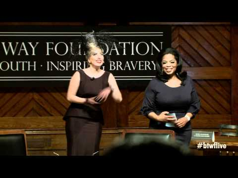 Still image from Oprah Winfrey Introduces Lady Gaga at Born This Way Foundation Launch