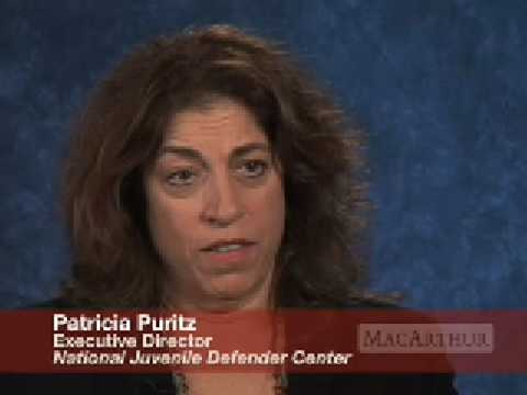 Still image from Patricia Puritz Discusses Juvenile Justice Reform