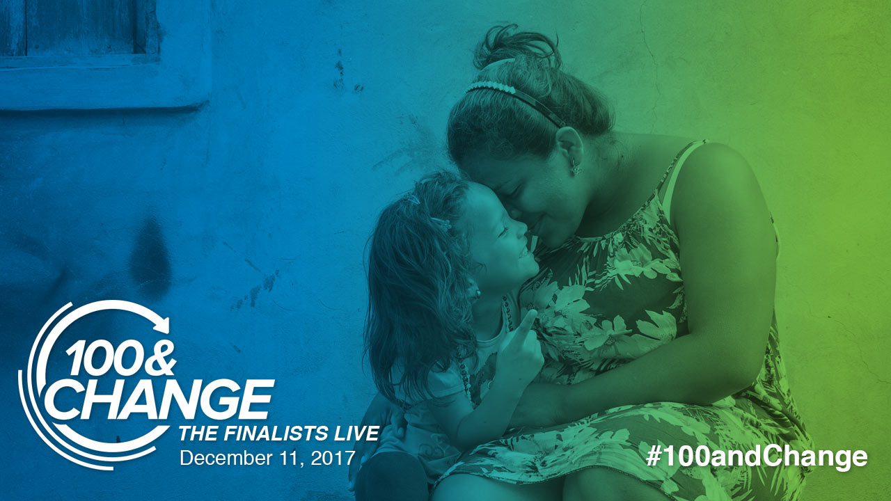 Still image from Catholic Relief Services | 100&Change: The Finalists Live Presentation