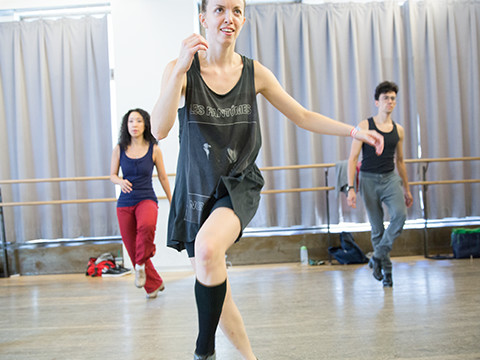 Still image from Tap Dancer and Choreographer Michelle Dorrance, 2015 MacArthur Fellow