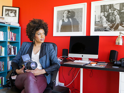 Still image from Photographer and Video Artist LaToya Ruby Frazier, 2015 MacArthur Fellow