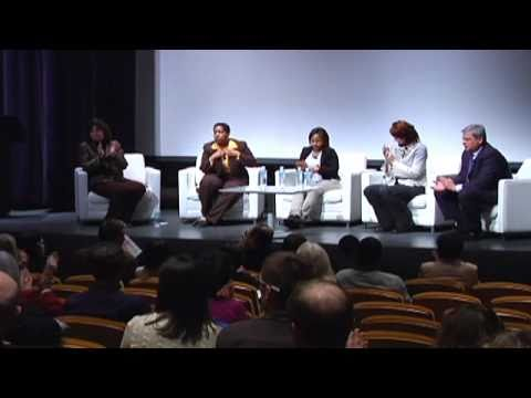 Still image from A Panel Discussion on Re-Imagining Learning in the 21st Century