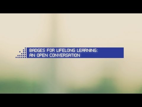 Still image from DML Competition and Badges for Lifelong Learning: An Open Conversation