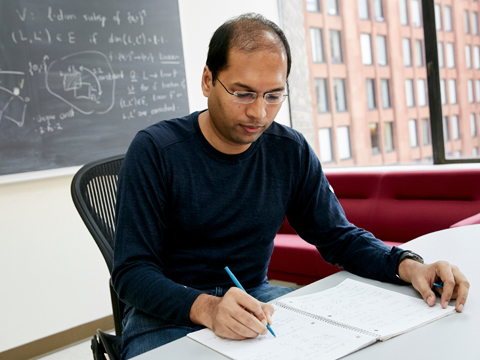 Still image from Theoretical Computer Scientist Subhash Khot | 2016 MacArthur Fellow