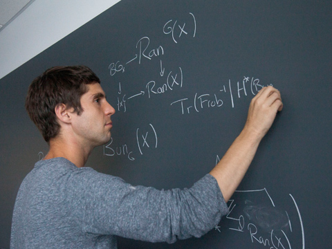 Still image from Mathematician Jacob Lurie, 2014 MacArthur Fellow
