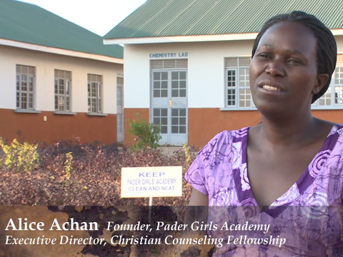 Still image from The Pader Academy: Educating Young Mothers Affected By Uganda's Civil War