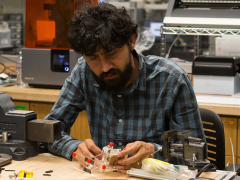 Still image from Physical Biologist and Inventor Manu Prakash | 2016 MacArthur Fellow