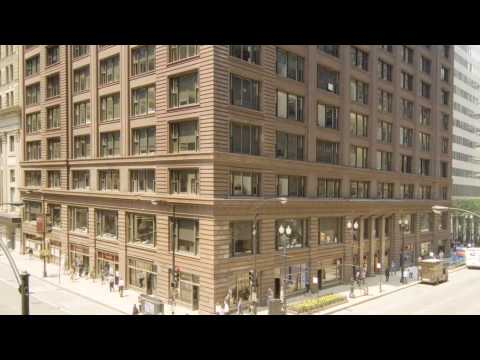 Still image from Maintaining the Restored Marquette Building