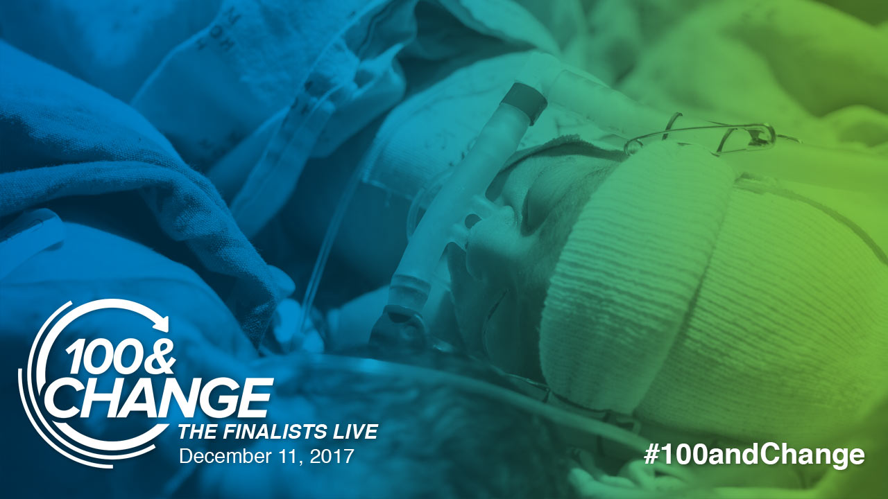 Still image from Rice 360° Institute for Global Health | 100&Change: The Finalists Live Presentation