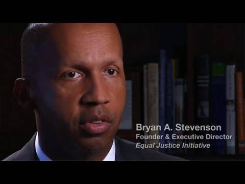 Still image from Bryan Stevenson on Juveniles Sentenced to Life Without Parole