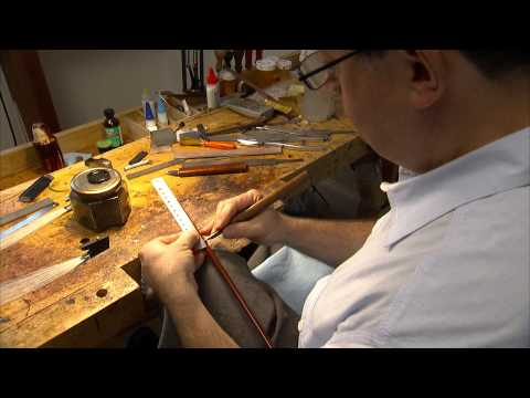 Still image from Stringed-Instrument Bow Maker Benoît Rolland, 2012 MacArthur Fellow