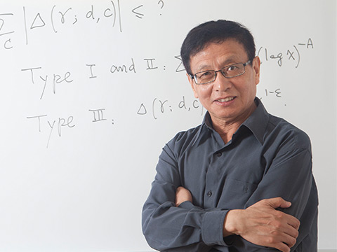 Still image from Mathematician Yitang Zhang, 2014 MacArthur Fellow
